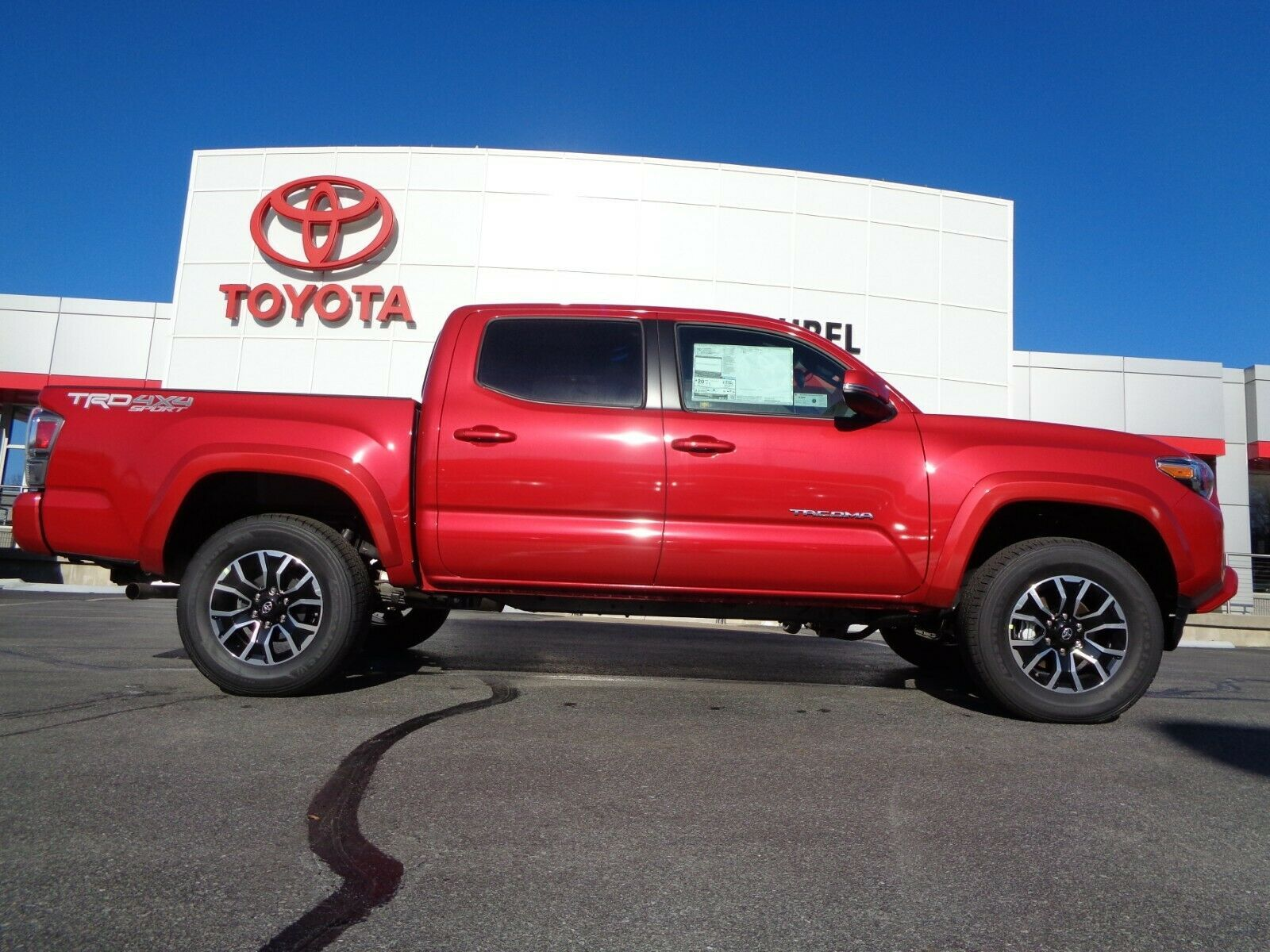 Used 2020 Toyota Tacoma New 2020 Double Cab 4 4 3 5l 4wd Trd Sport New 2020 Tacoma Double Cab 4 4 Trd Sport Barcelona Red Paint Apple Carplay 4wd 2020 In 2020 Toyota Tacoma Toyota Tacoma