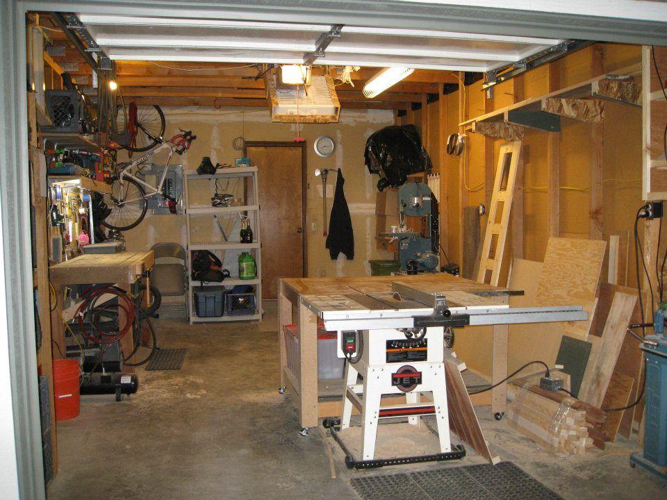 Single Car Garage Shop Garage Workshop Garage Workshop Layout Garage Storage