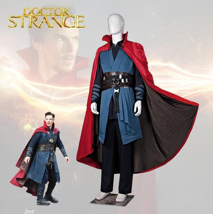 Doctor Strange Costume Stephen Vincent Cosplay Costume Outfits Full Set All Size