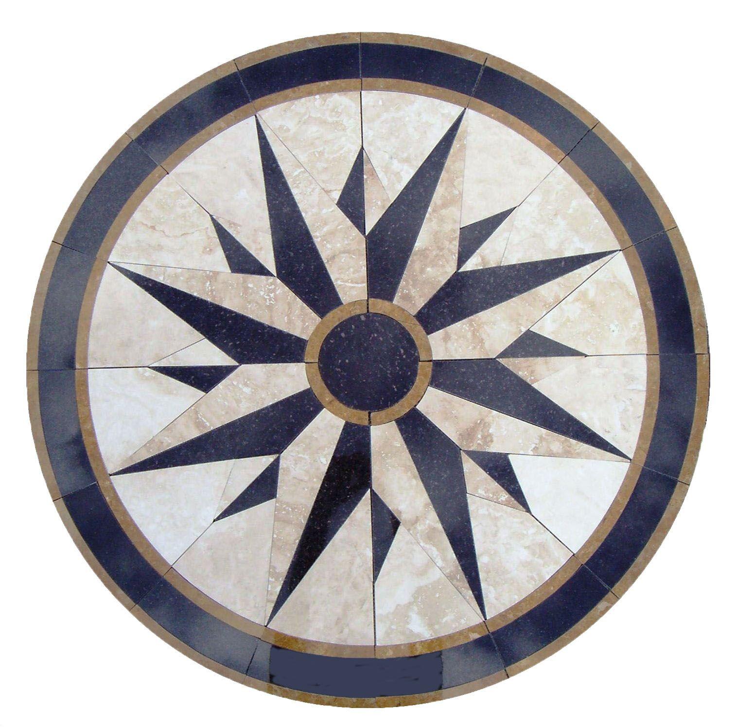 medallion us - floor medallions, marble mosaics, borders ... - Weie Fliesen Bordre