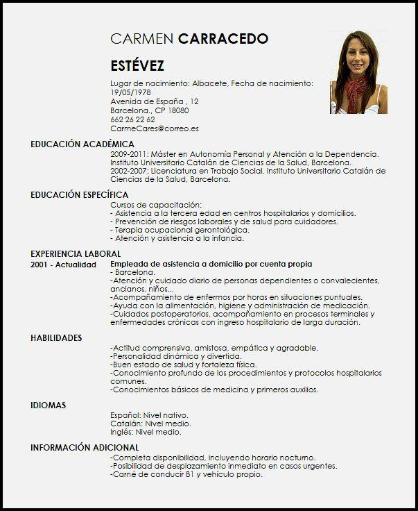 Modelos De Curriculum Vitae, Curriculum Vitae