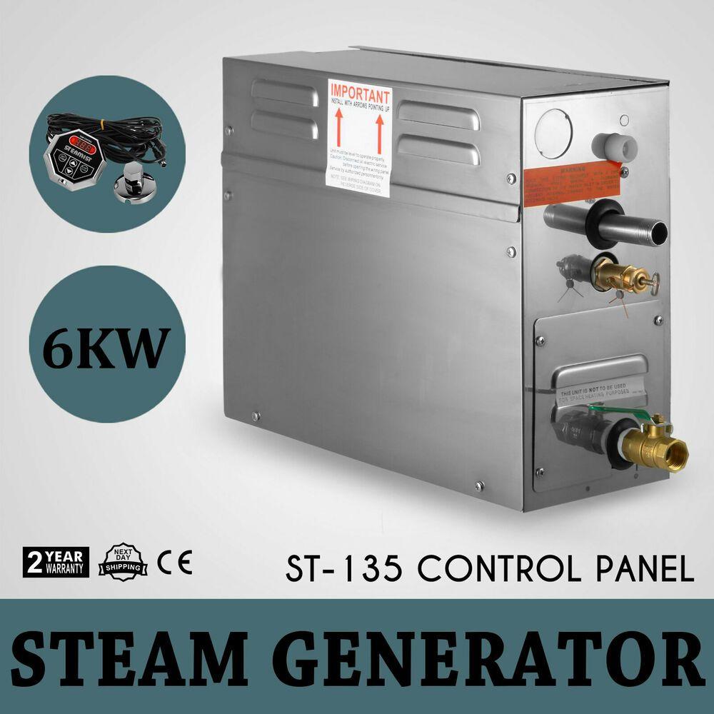 Ebay Sponsored New 6kw Steam Generator Sauna Bath Spa Shower