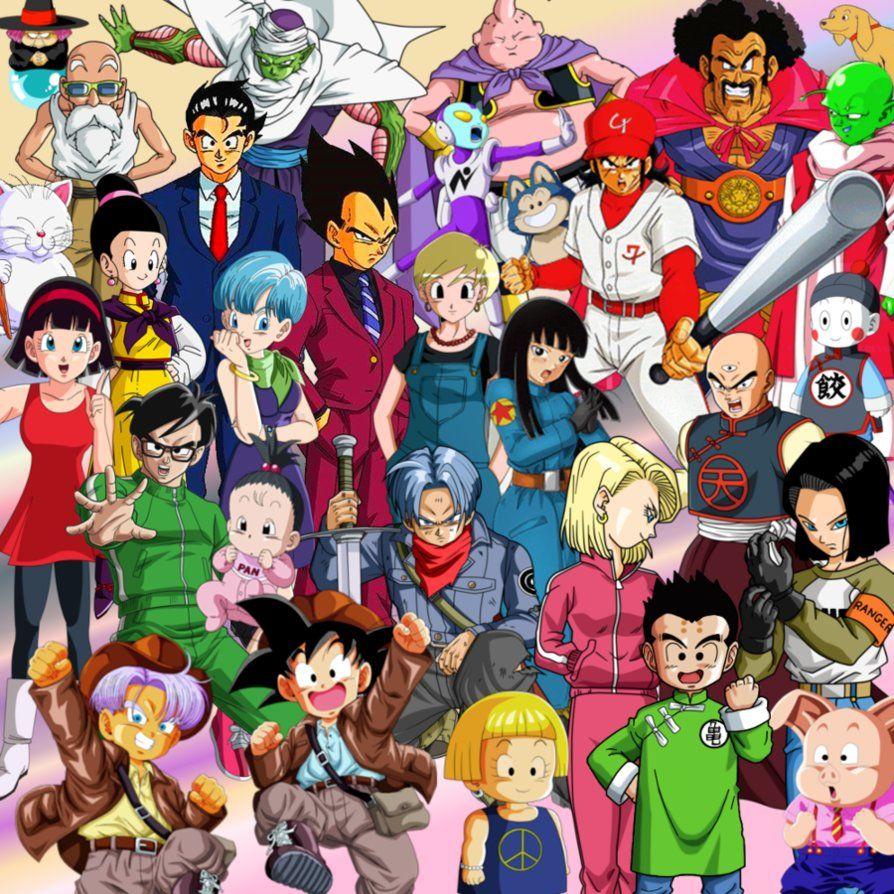 Wallpaper Dbs Team Z Super By Majinartbook Anime Anime Echii Desenhos