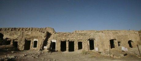 Foto de 7 de novembro de 2008 mostra Mosteiro Santo Elias, nos arredores de Mossul, no Iraque, cerca de 360 quilômetros a noroeste de Bagdá Foto: Maya Alleruzzo / AP