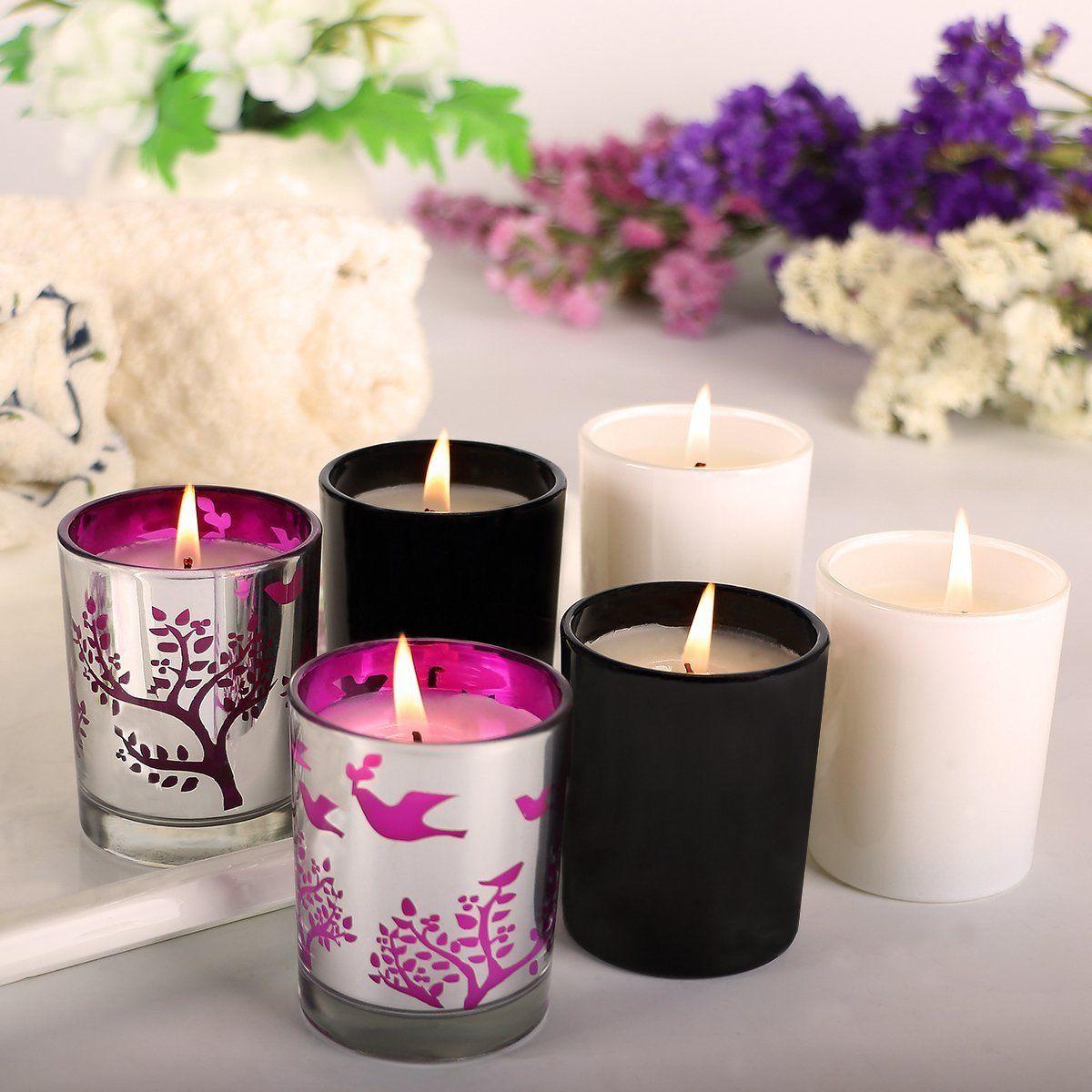 Aromathérapie Pack Parfum Pièces Bougies Des Quatre Parfumées Cire PO8nk0w