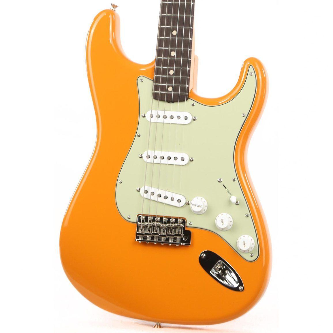 Fender Custom Shop Noneck Stratocaster Nos Capri Orange Music Zoo Exclusive R112980 Fender Custom Shop American Vintage U Neck