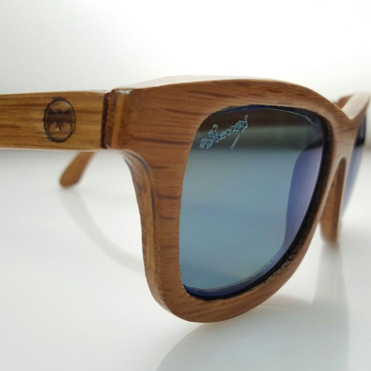 b1562759fb Wooden sunglasses handcrafted in Puerto Rico by Raw Eyewear with the wood  obtained from the Bacardi Rum barrels