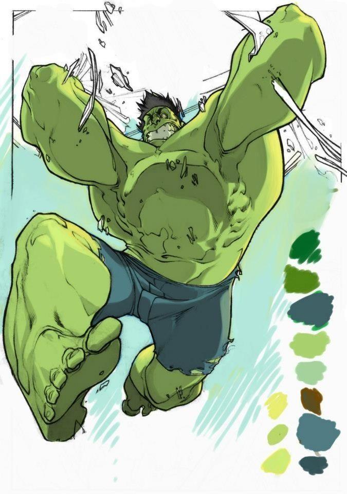 #Hulk #Fan #Art. (The Hulk) By: Raul Moreno. ÅWESOMENESS!!!™ ÅÅÅ+    https://s-media-cache-ak0.pinimg.com/474x/59/70/55/597055170a33c3041bbd8b27289e3c7c.jpg
