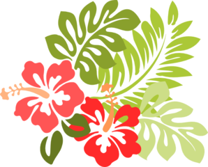 Hibiscus Clip Art Vector Clip Art Online Royalty Free Public Domain Hawaiian Flower Drawing Hibiscus Clip Art Flower Drawing