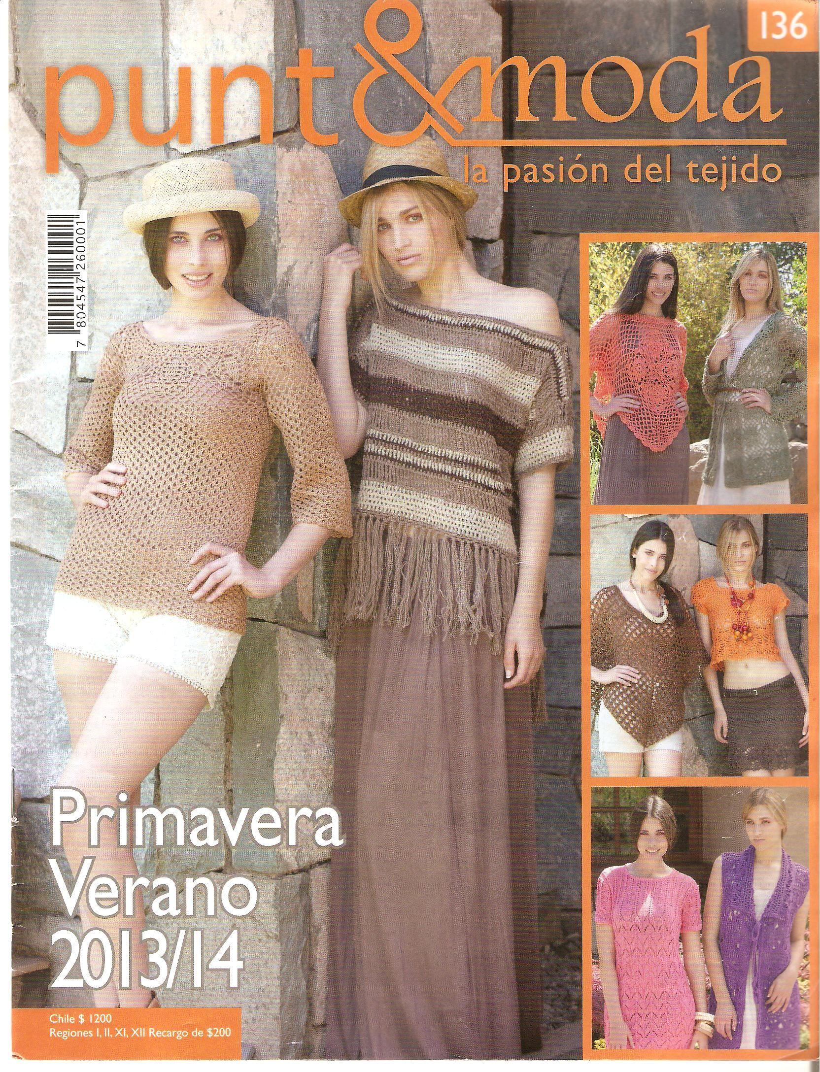 Revista punto moda 136 revistas pinterest crochet revista punto moda bankloansurffo Choice Image