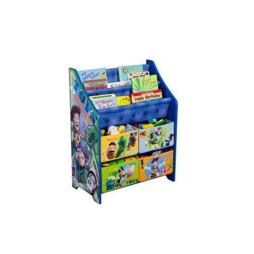 Disney Toy Story Book And Toy Organizer By Delta Enterprise Http Www Amazon Com Dp B003zv7vmq Ref Cm Sw R Toy Story Bedroom Toy Story Room Toy Organization
