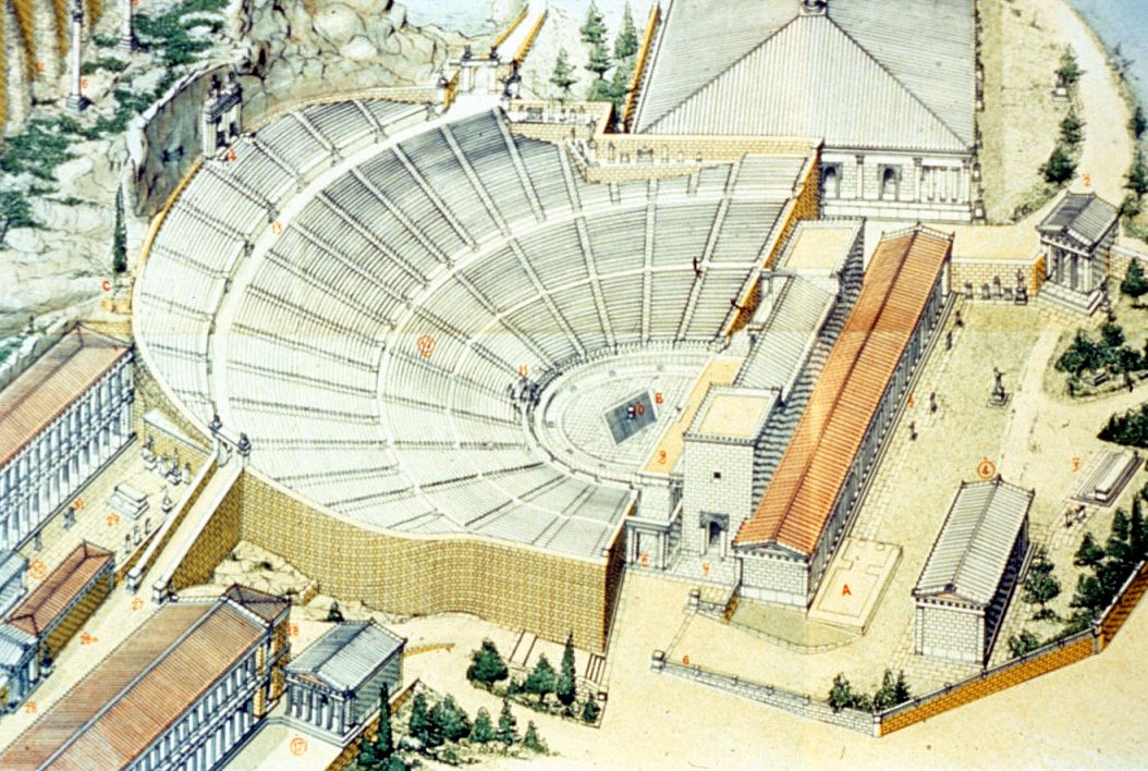Theatre of Epidaurus, Ancient Greece Ancient greek