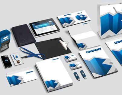 psd corporate identity mockup part 2 (free download) | mockups, Powerpoint templates