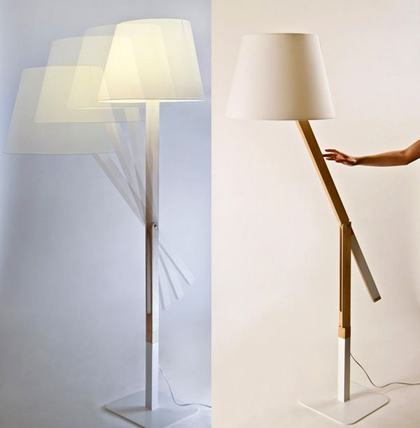 Simple Lamp Designs antithesis lamp - moving structure - counterweight to balance