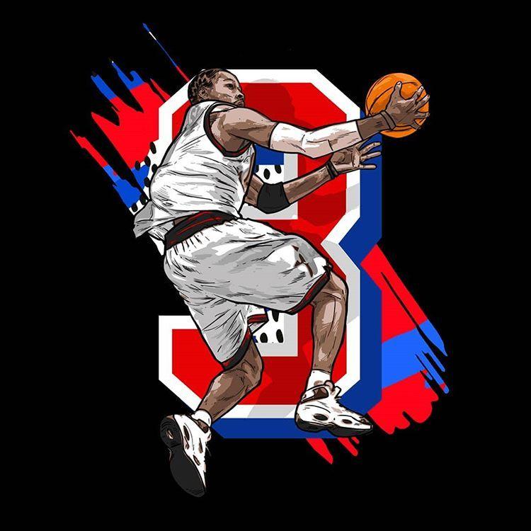 Bonafide Icon On Instagram Retro Iverson Illustration Art Design Drawing Illustration Basketball Sneakernews Reebok Sneakers Sixers Philade Basquete