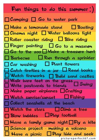 Fun Things To Do This Summer Ideas For My Girls