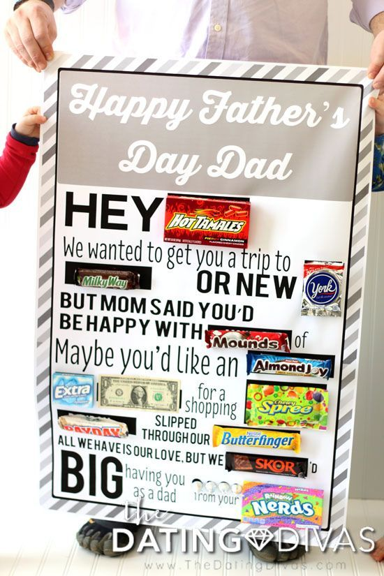 Father S Day Candy Gram Candy Bar Posters Candy Grams