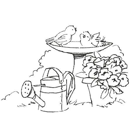 Bath time embroidery stuff pinterest bird for Bath time coloring pages