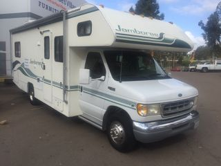 1999 Fleetwood Jamboree Class C Motorhome Ford E450 Chassis With