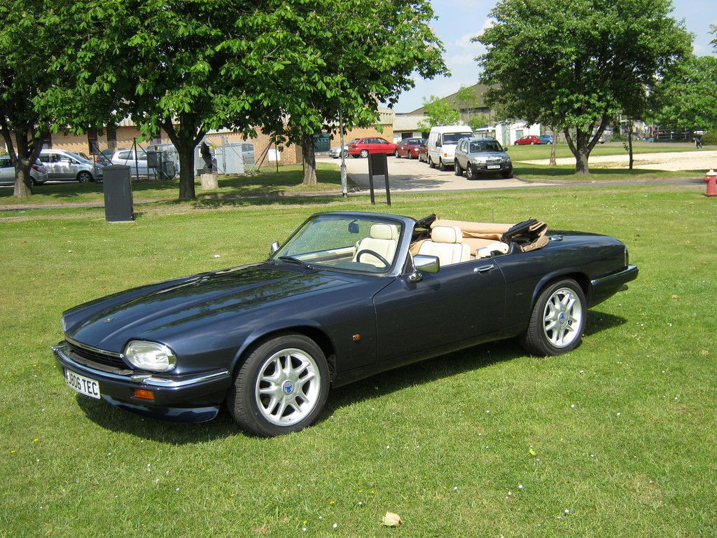 Jaguar XJS 5 3 litre V12 convertible - major upgrade  Unique