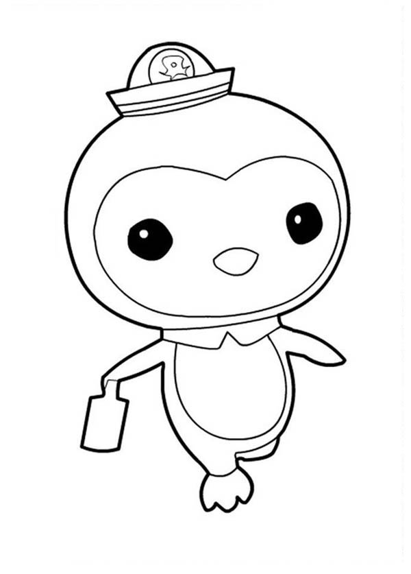 Peso Penguin Walking In The Octonauts Coloring Page Download Print Online Coloring Pages For Fre In 2020 Penguin Coloring Pages Fish Coloring Page Penguin Coloring