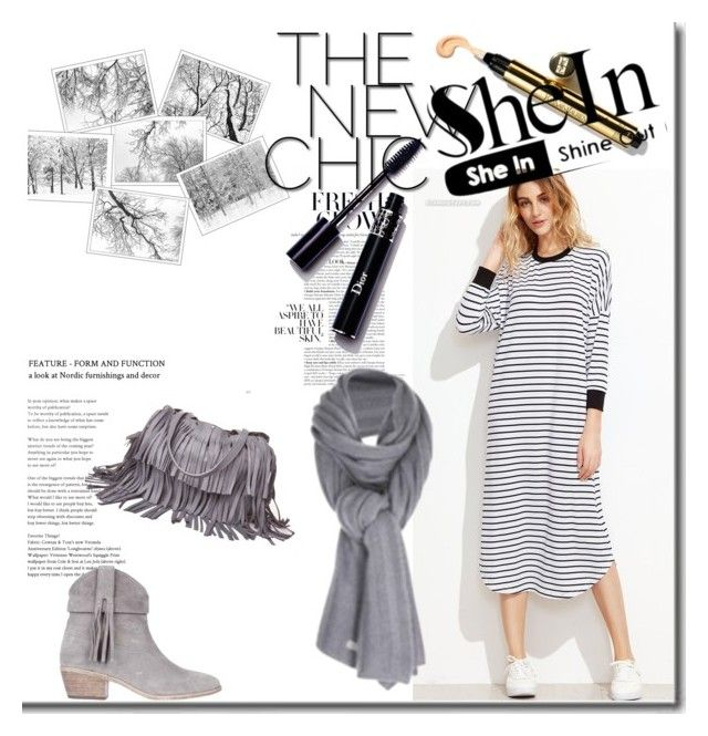 """""""shein"""" by perfex ❤ liked on Polyvore featuring Care By Me, Joie and Laggo"""