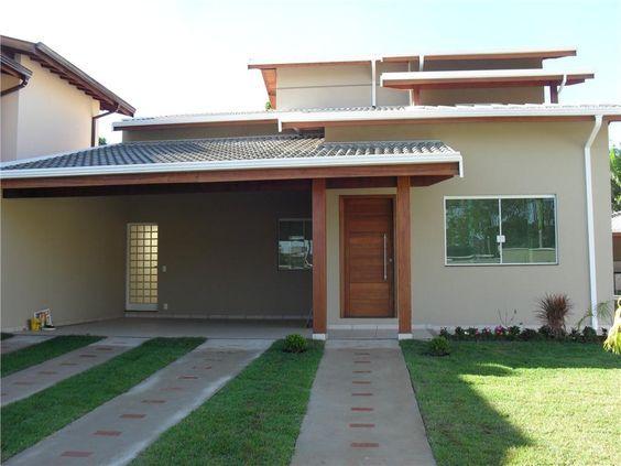 Casas Modernas Pequenas Disenos De Casas De Una Planta Planos De Casas Pequenas De Una Planta Di House Construction Plan House Exterior Carriage House Plans