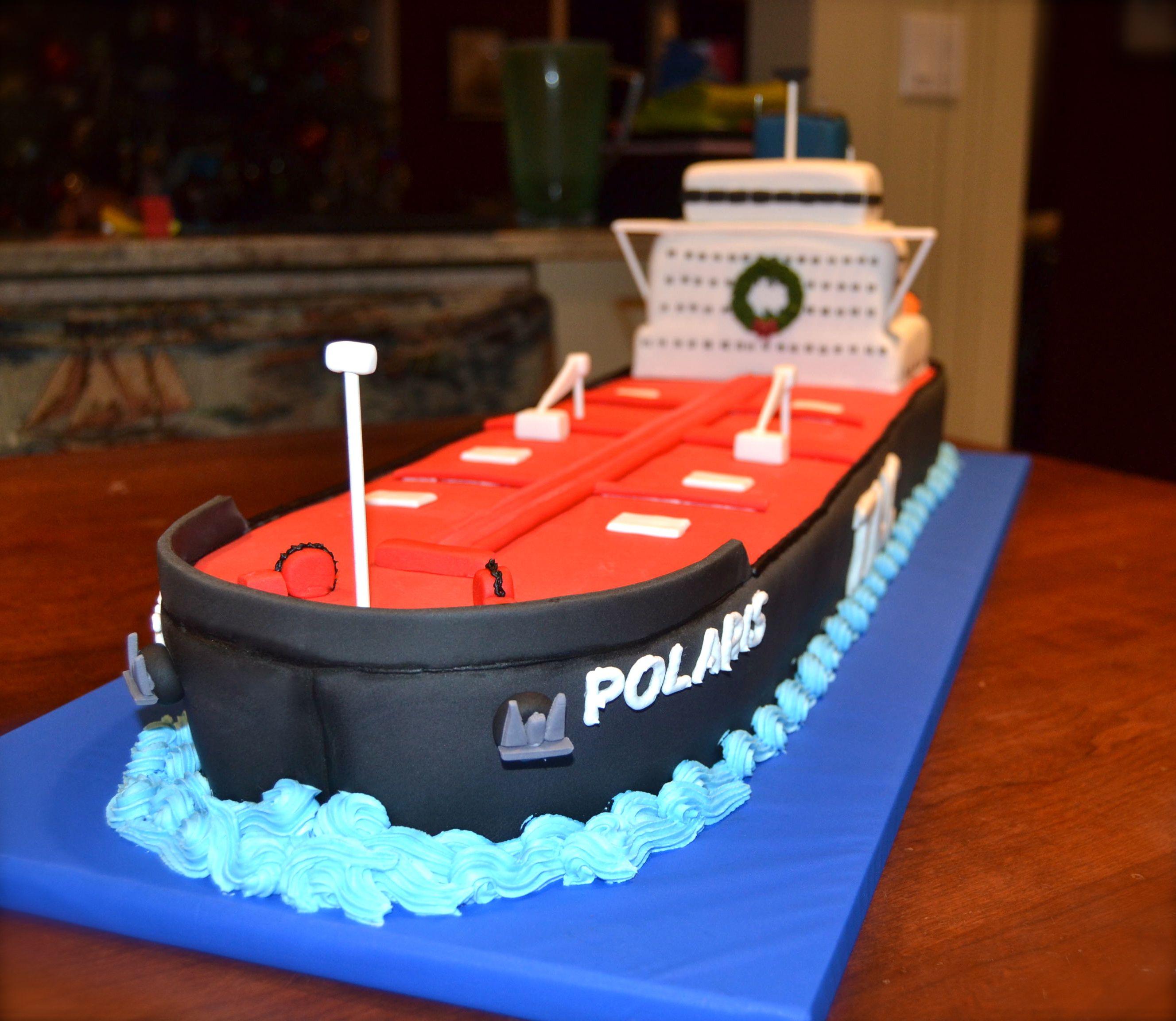 Tanker Cake Anne s Cakes Pinterest Cake, Sculpted ...