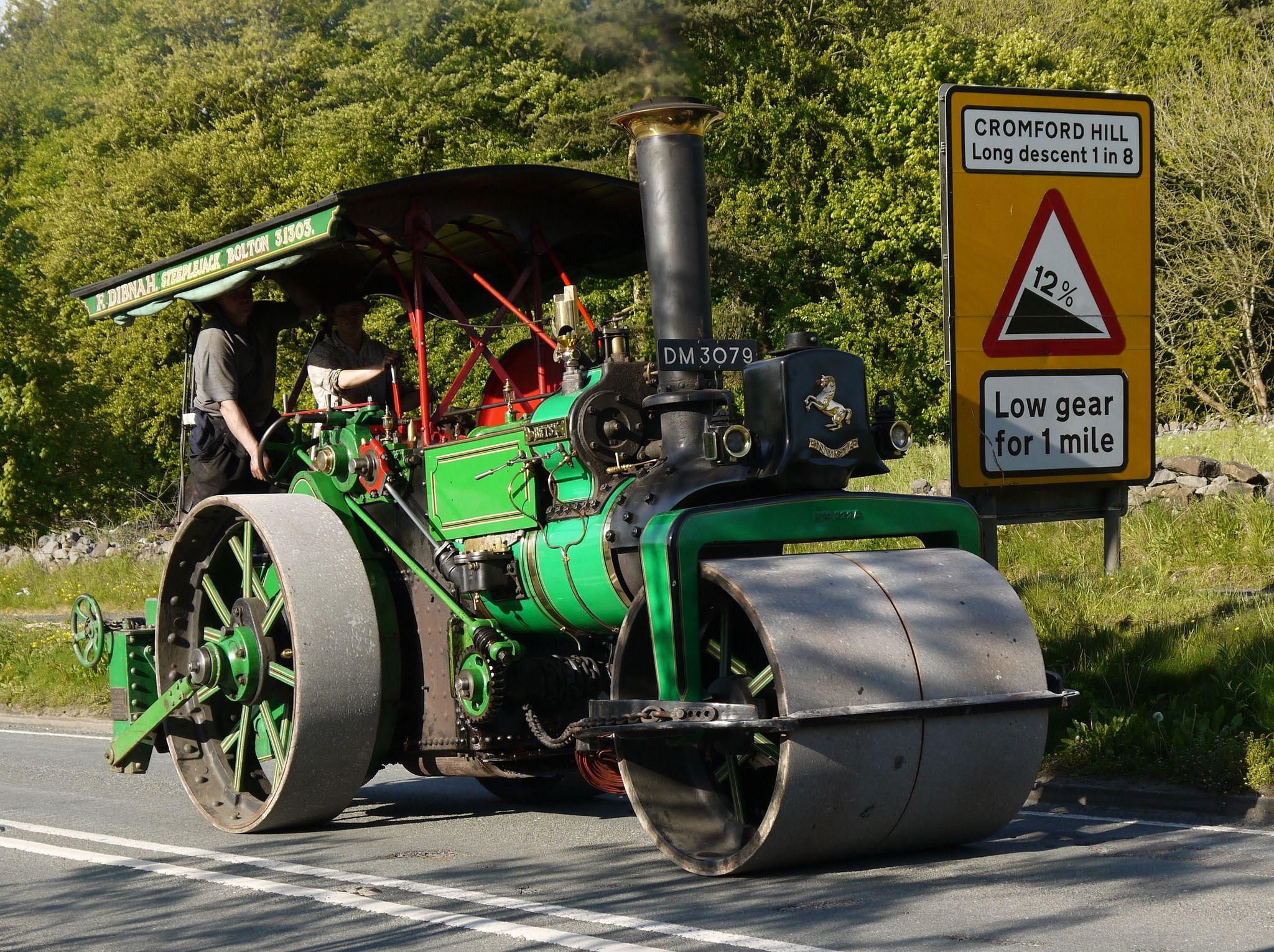Aveling Porter Road Roller 'Gentle Annie' Promotional ...  Road Roller Aveling