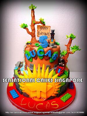 Sensational Cakes Online Singapore CHIMA THEME