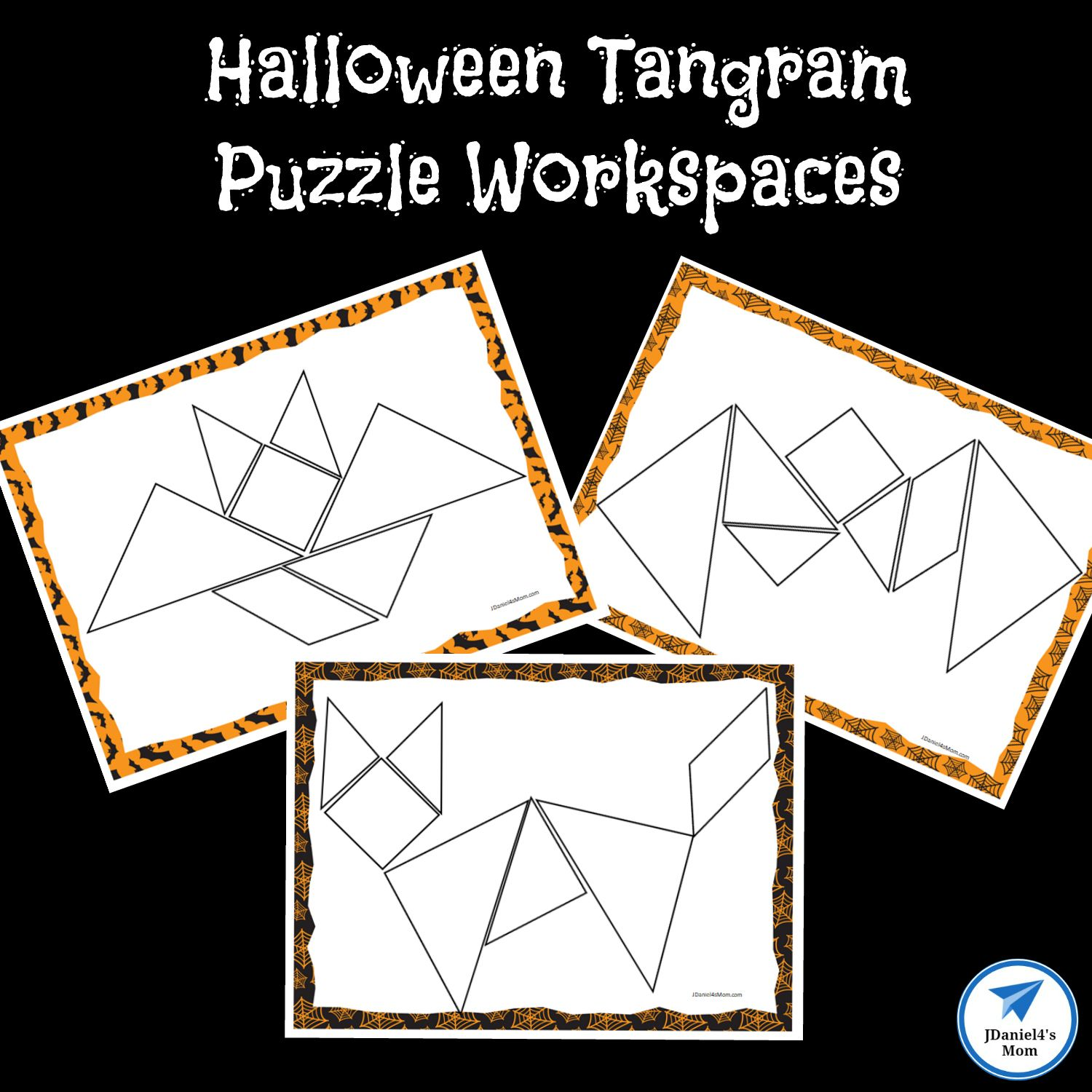 Free Printable Tangram Puzzles Worksheets Learning How