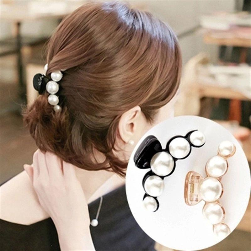 Stylish Full Crystal Womens Hair Clip Hairpin Rhinestone Clamp Claw Headwear