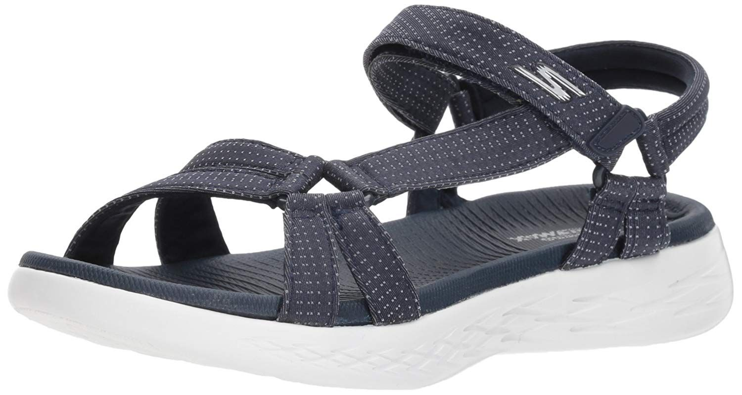 Skechers Women S On The Go 600 Brilliancy Wide Sport Sandal We Do Hope You Love Our Picture This Is An Aff Skechers Women Sport Sandals Womens Sandals