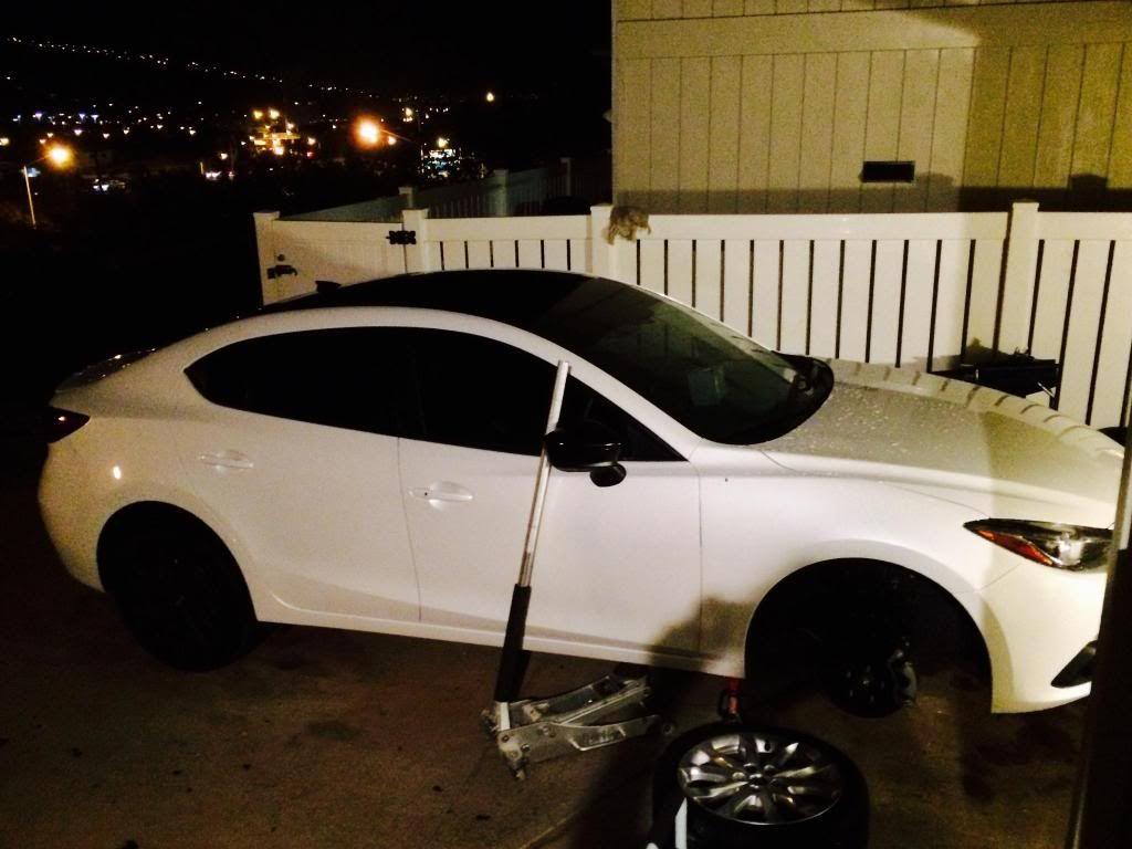 Black Roof Wrap On Mz3 Dream Cars Mazda 3 Mazda