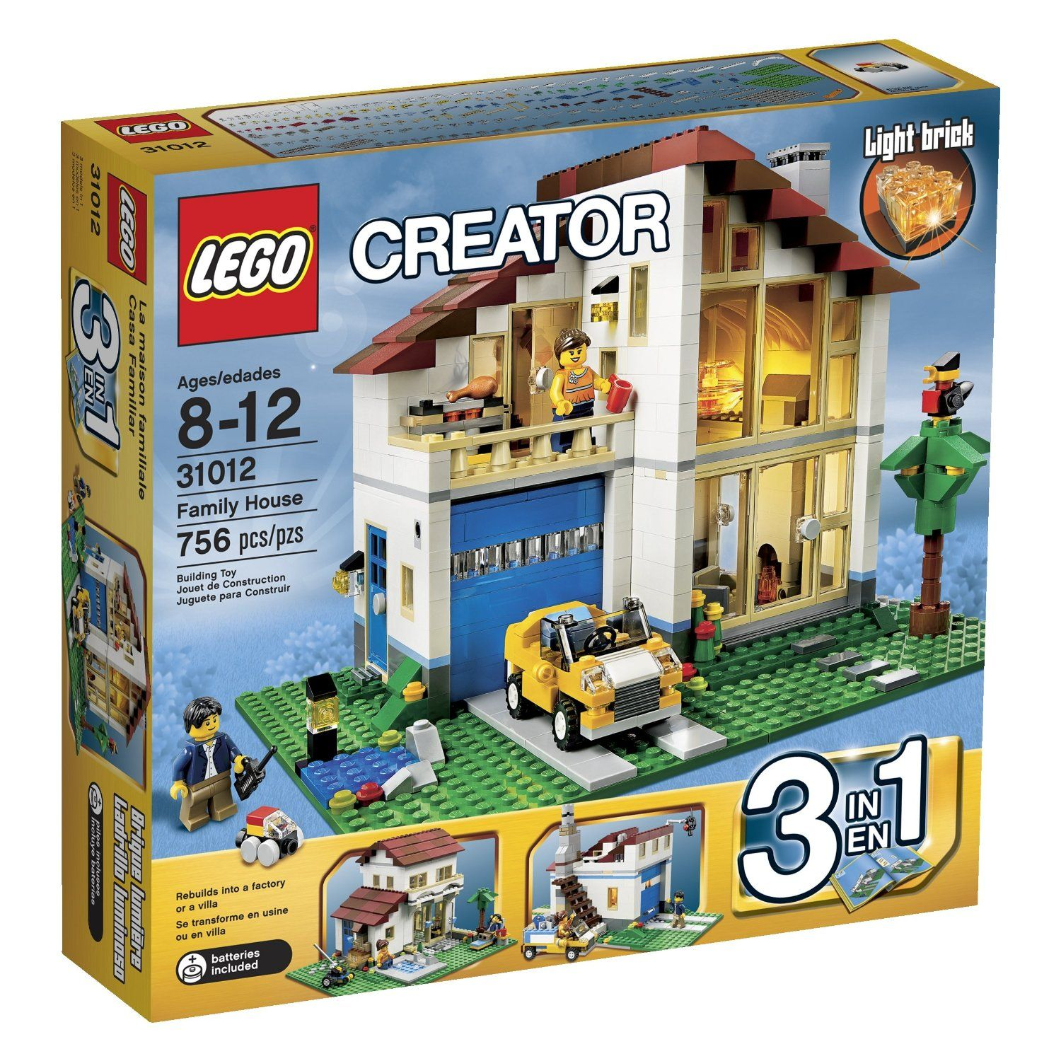 Lego Creator 3 In 1 Home Playsets Are Awesome Lego Creator Sets Lego Creator Lego House