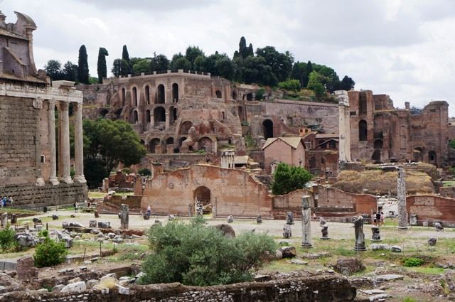Today In History Rome Is Founded 753 Bce Today In History Rome Roman Forum