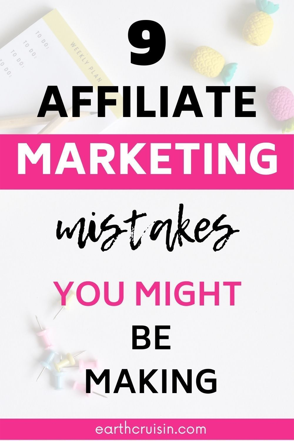9 Common Affiliate Marketing Mistakes You Need To Avoid Ffiliate Marketing Mistake In 2020 Affiliate Marketing Affiliate Marketing Course Affiliate Marketing Business