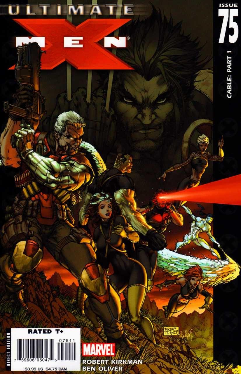 Ultimate X Men 75 Cable Part 1 Issue X Men Michael Turner Comics