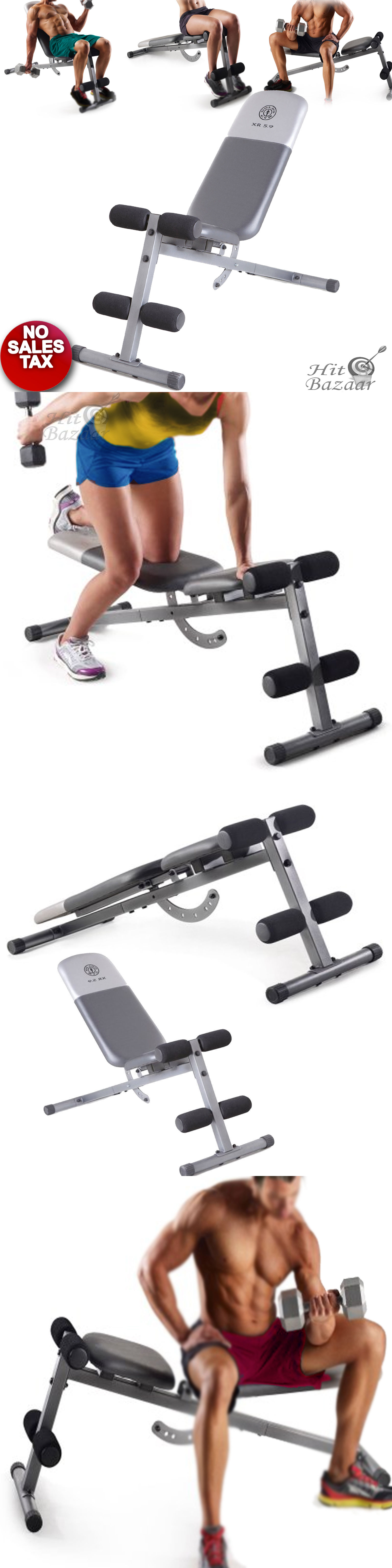 Weight Bench Incline Decline Flat Xmark Fid Free Weights Gfid71 Buy D8 Fitness Store