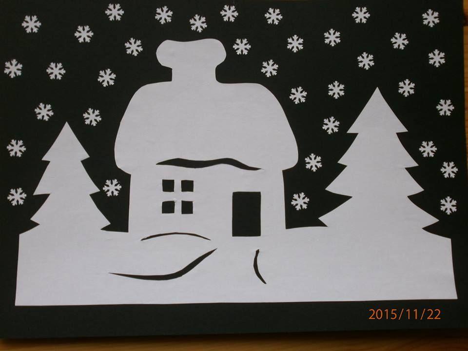 Weihnachtsdorf Basteln Vorlagen Angenehm 8