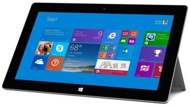 Photo of a Microsoft Surface 2 tablet computer - © Microsoft Inc.