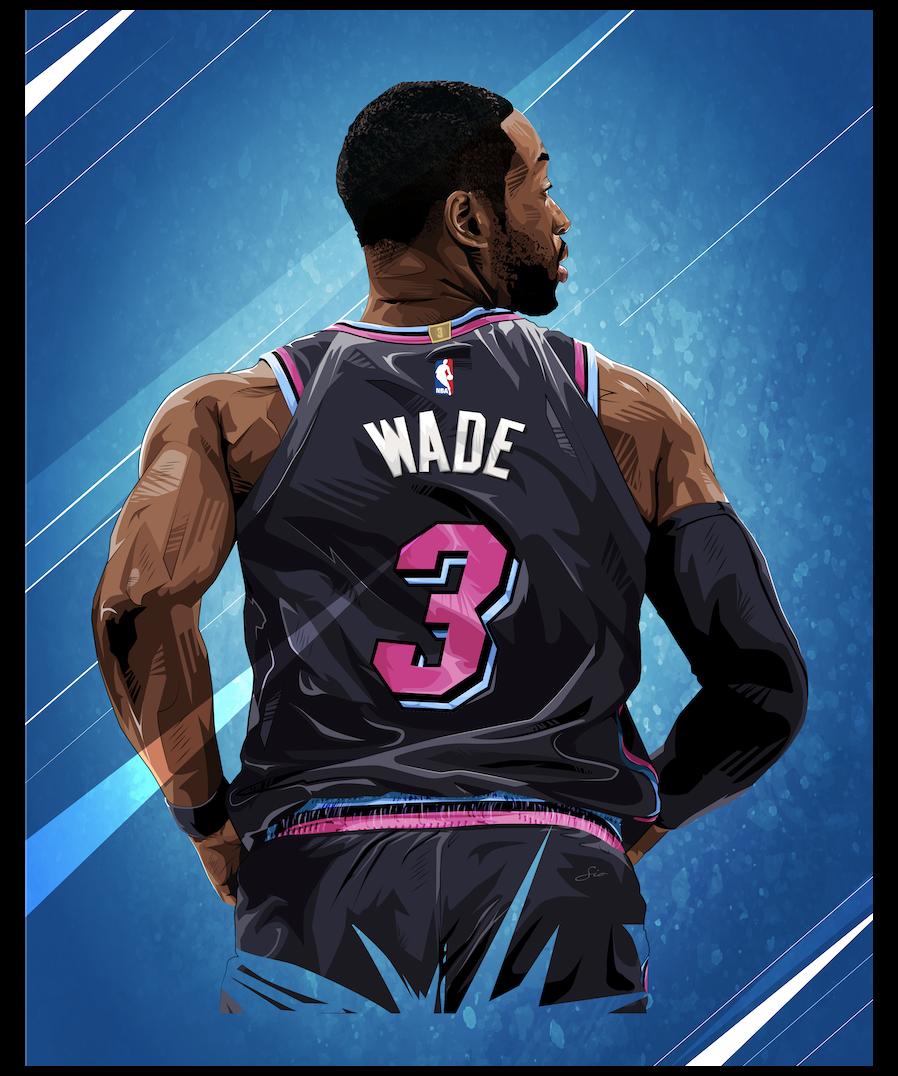Works Sio Dwayne Wade Wallpaper Miami Heat Dwaynewadewallpapermiamiheat Nba Wallpapers Basketball Players Nba Nba Pictures