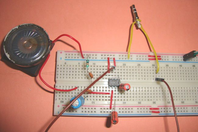 Small Loudspeaker for Computer or Cell Phone | Electronic Circuits ...