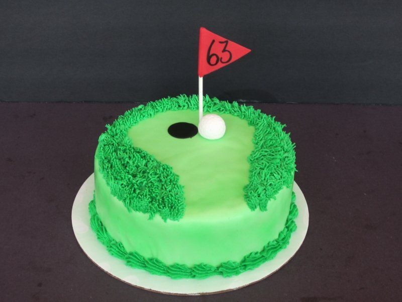 Golf Cake Simple Golf Cake Whipped Up In A Day For A Last Minute