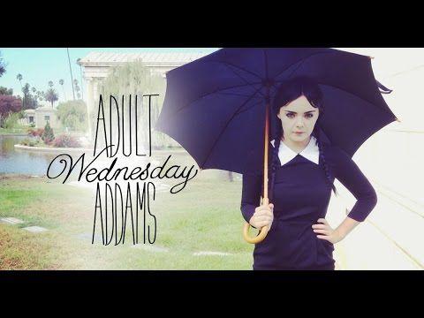 """Adult Wednesday Addams Season 1- """"Happy"""" Wednesday"""