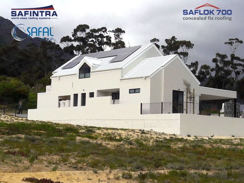 Saflok 700 Is A Concealed Fix Sheet Profile With An Effective Cover Width Of 700mm It Is An Angular Interlocking Standin Cladding Systems House Styles Roofing
