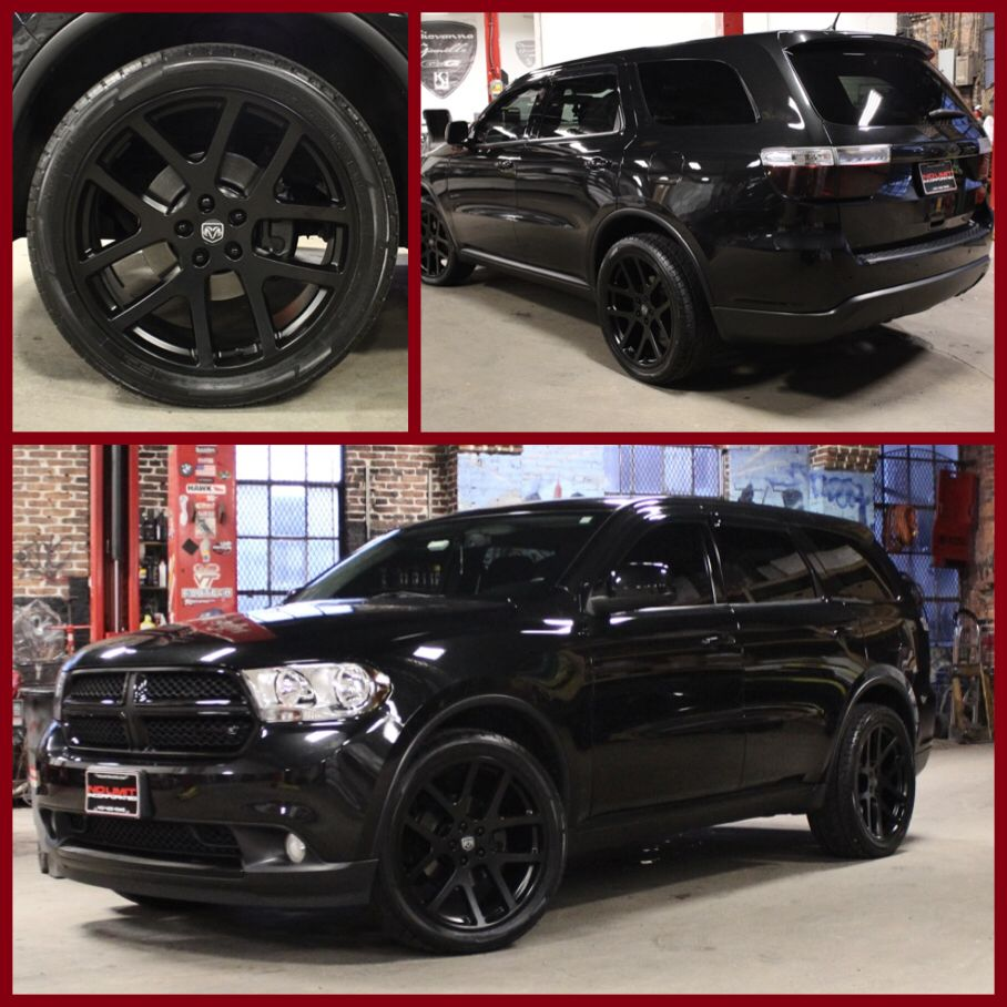 "2018 Dodge Durango Interior: Dodge Durango Blacktop/ 22"" SRT Wheels"