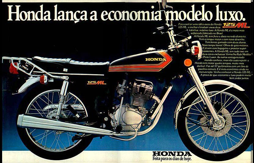 Anúncio moto Honda 125 ML - 1977 | Motos | Pinterest ...