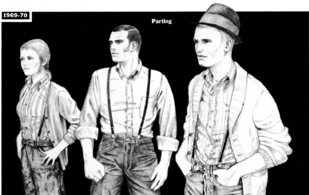 skinhead fashion 1969-70