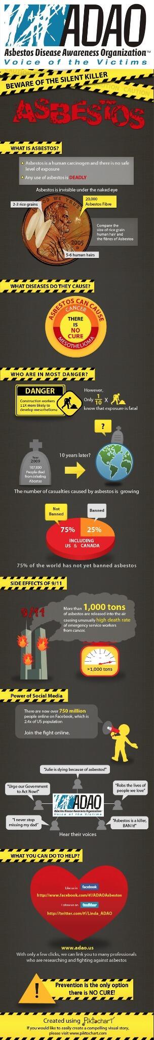 From Linda at ADAO via twitter asbestos